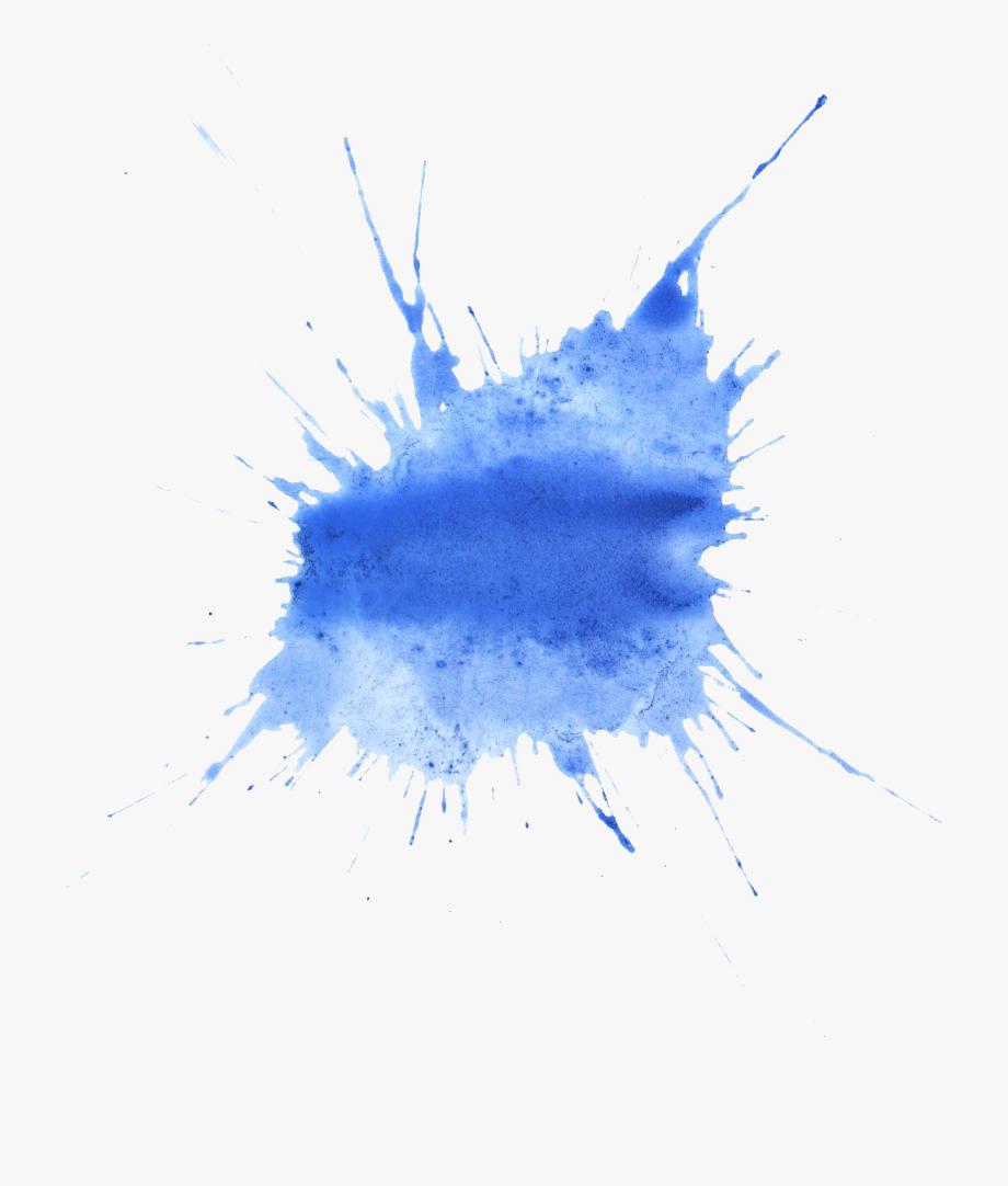 Dark Blue Clipart Blue Splatter.