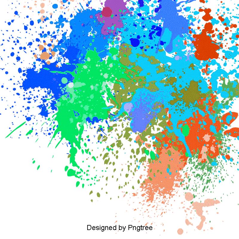 Watercolor Splash PNG Images.