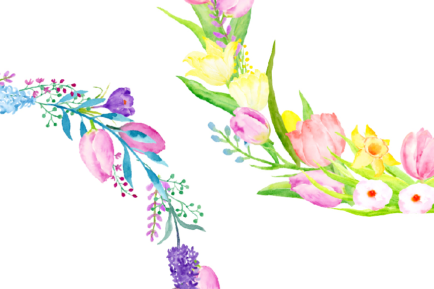 493 Spring Flower free clipart.
