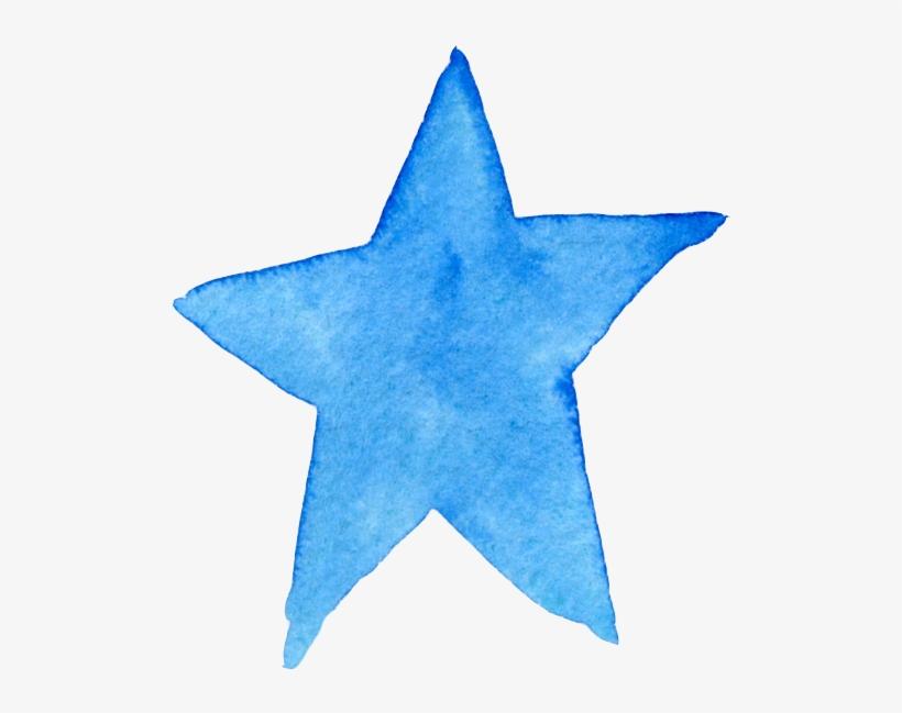 Star Watercolor Ftestickers.