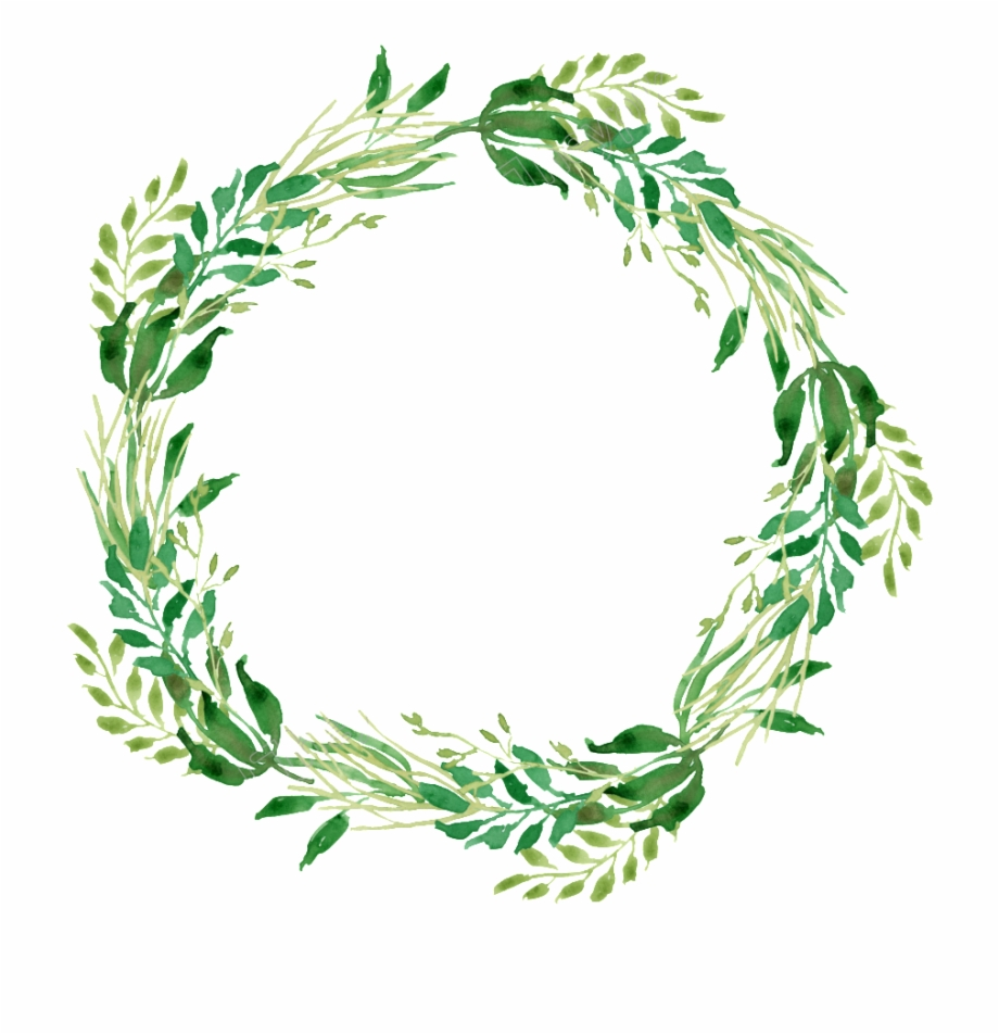 Watercolor Wreath Png Free Download Files.