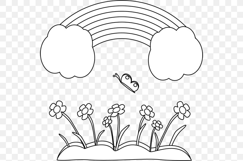 Black And White Coloring Book Drawing Clip Art, PNG.
