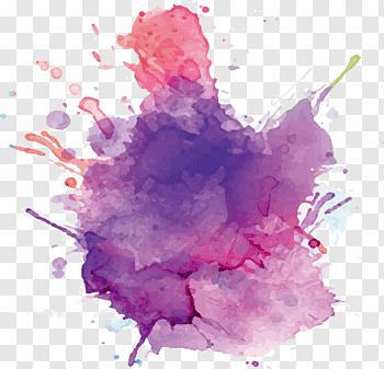 Watercolor Splash cutout PNG & clipart images.