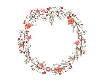 Watercolor Wreath Clipart at GetDrawings.com.