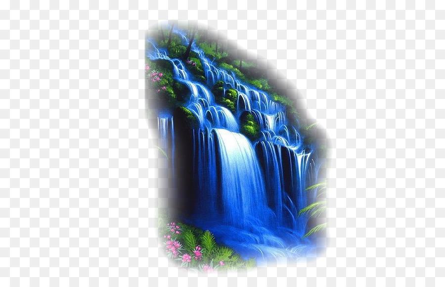 Waterfall Cartoon.