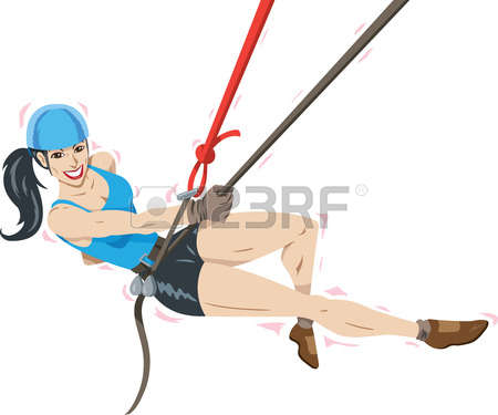 102 Rappelling Stock Vector Illustration And Royalty Free.