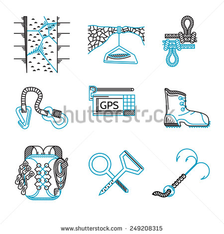 Rappelling Stock Vectors, Images & Vector Art.
