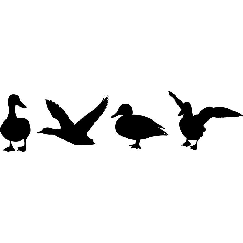 Duck Silhouette Clip Art & Duck Silhouette Clip Art Clip Art.
