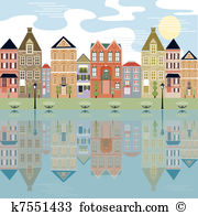 Waterfront Clip Art Vector Graphics. 1,148 waterfront EPS clipart.