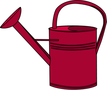 Watering Can Clip Art.
