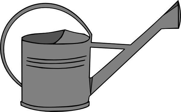 Watering Can Clip Art at Clker.com.