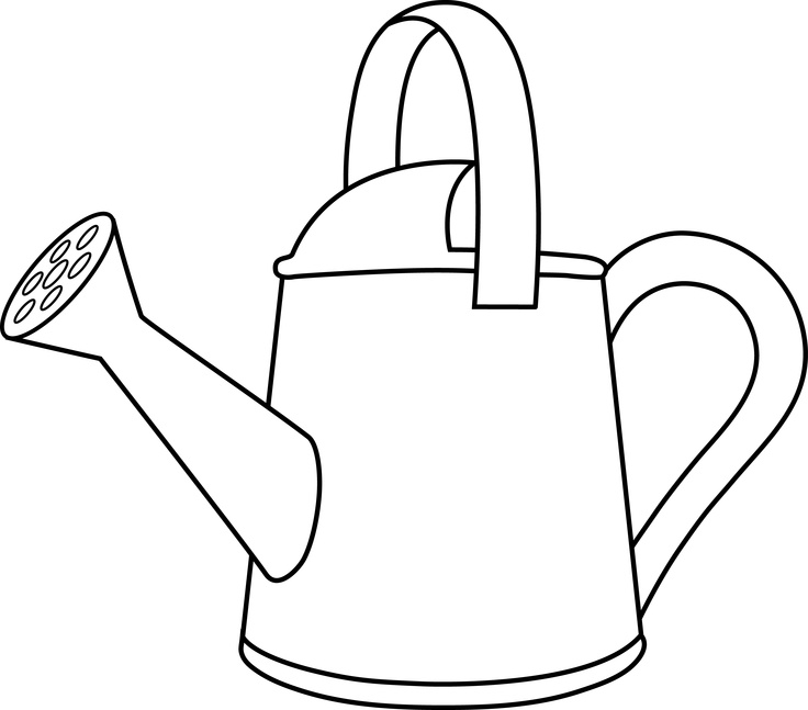 97+ Watering Can Clipart.