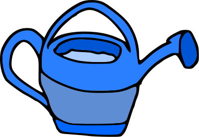 Free Watering Can Clipart, 1 page of Public Domain Clip Art.
