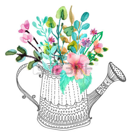 8,648 Watering Can Cliparts, Stock Vector And Royalty Free.
