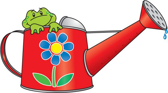 Clipart watering can.