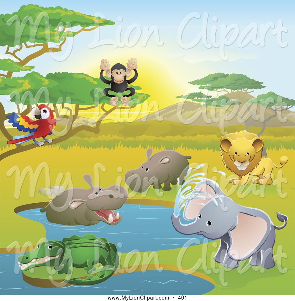 3537 Safari free clipart.