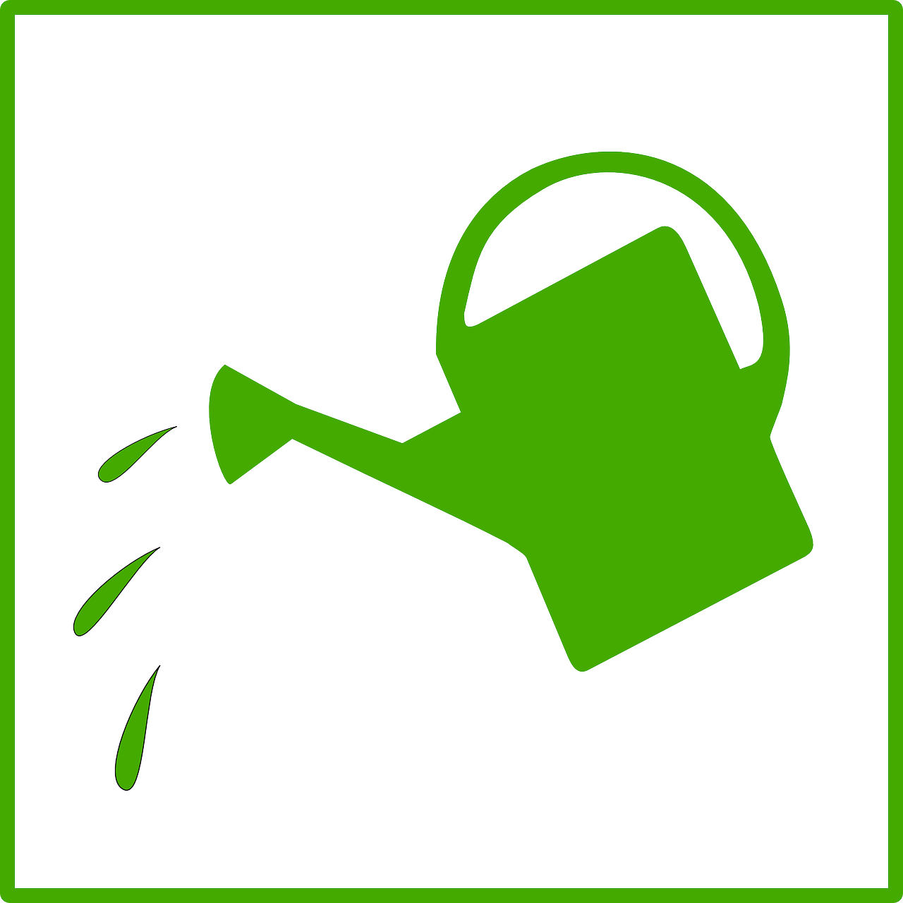 Watering Can Clipart.