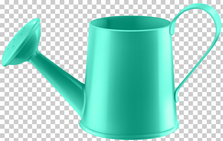 Water Can Transparent , blue watering can PNG clipart.