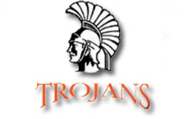 Trojan Basketball Clipart.