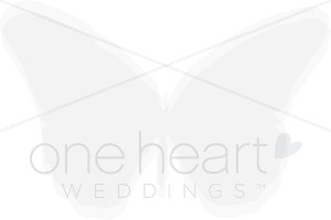 Butterfly Watermark Clipart.