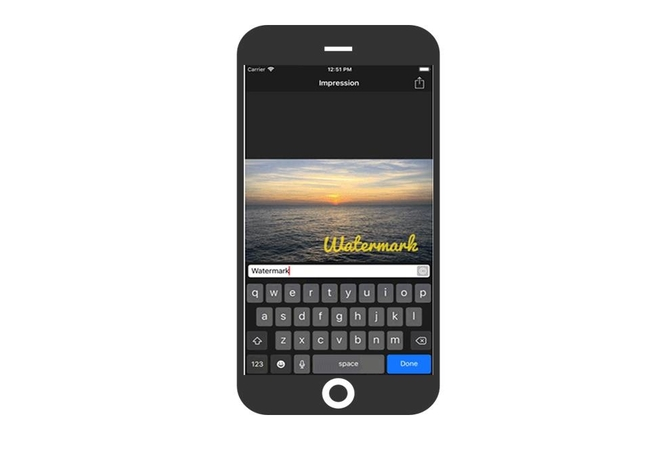 The Best Watermark App for iPhone.