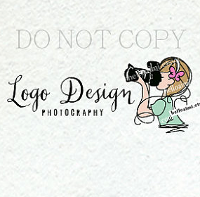 photographer logo, photography logo, logo design, custom.