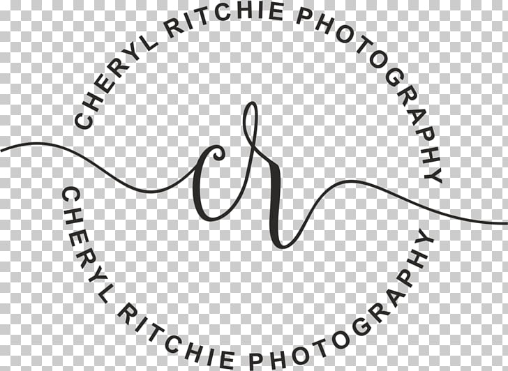 Wedding photography Logo, dynamic watermark PNG clipart.