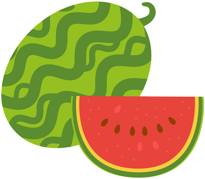 Watermelon clipart. Free download..