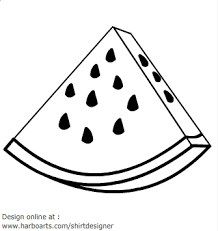 fruit clipart black and white」的圖片搜尋結果.