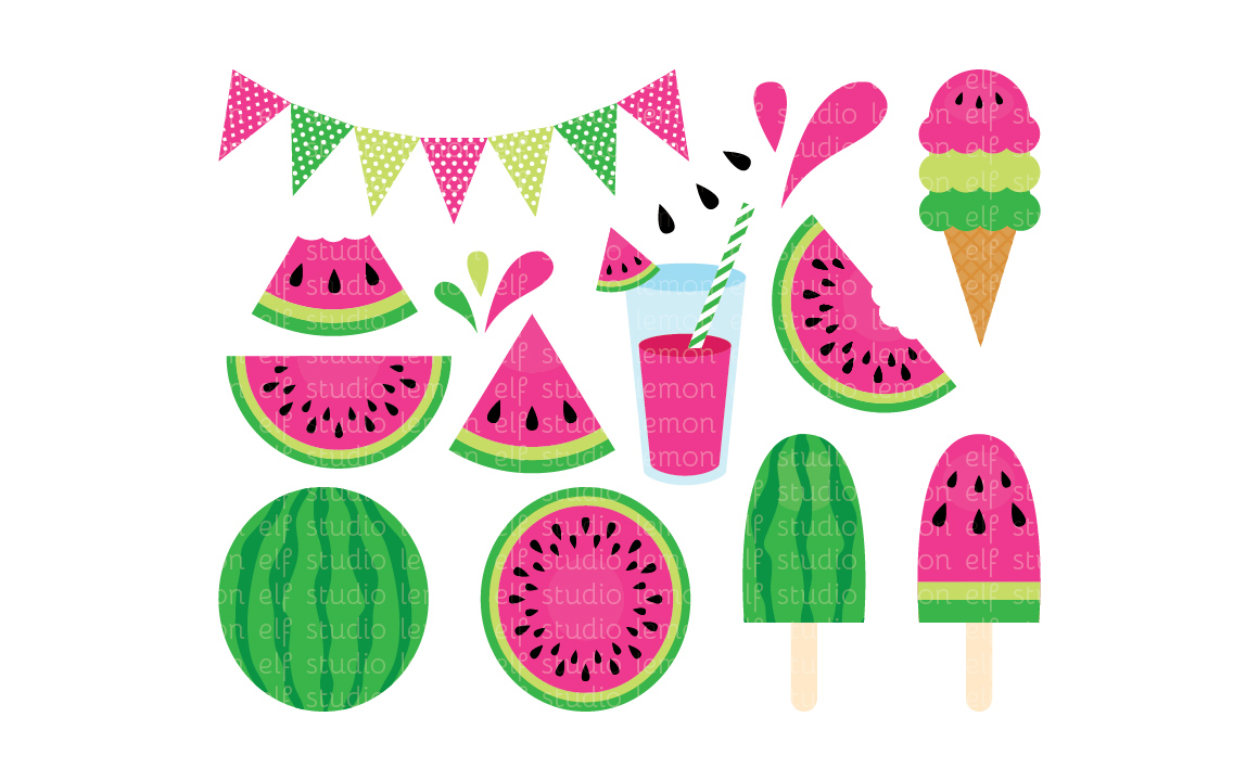 Fresh Watermelon.