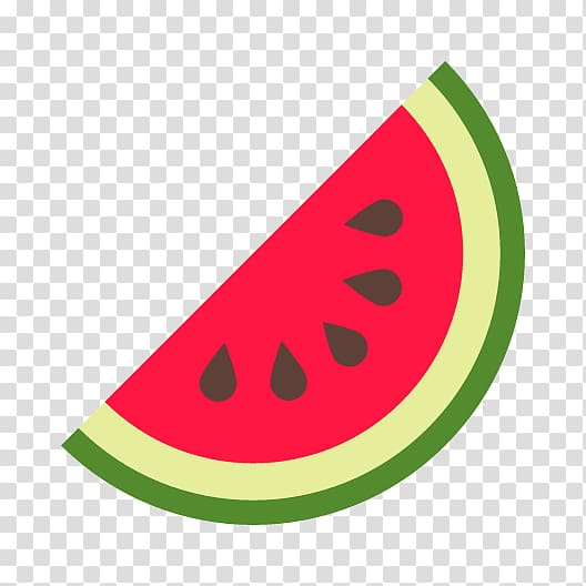 Half watermelon illustration, Watermelon Citrullus lanatus.