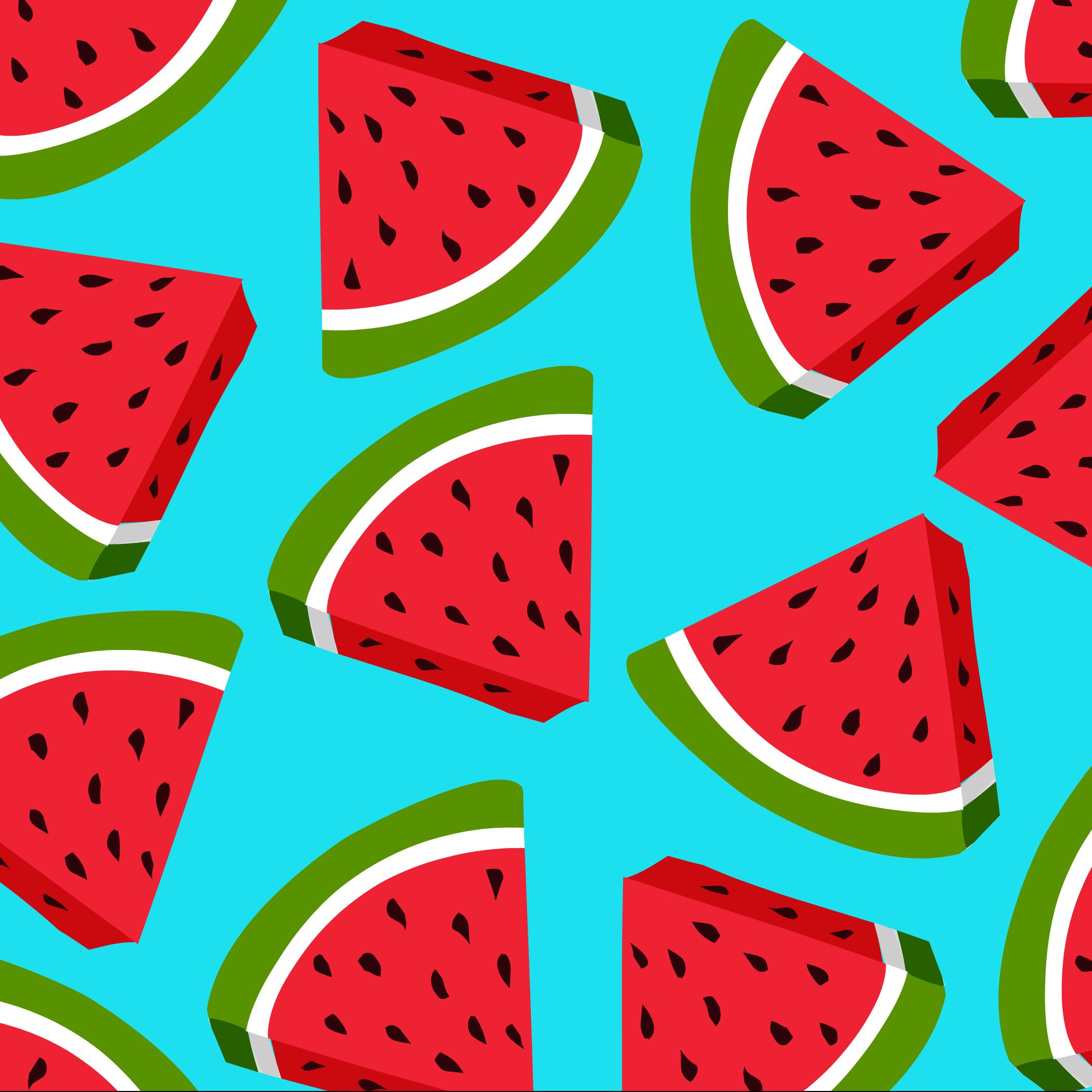Watermelon Clipart Wallpaper.