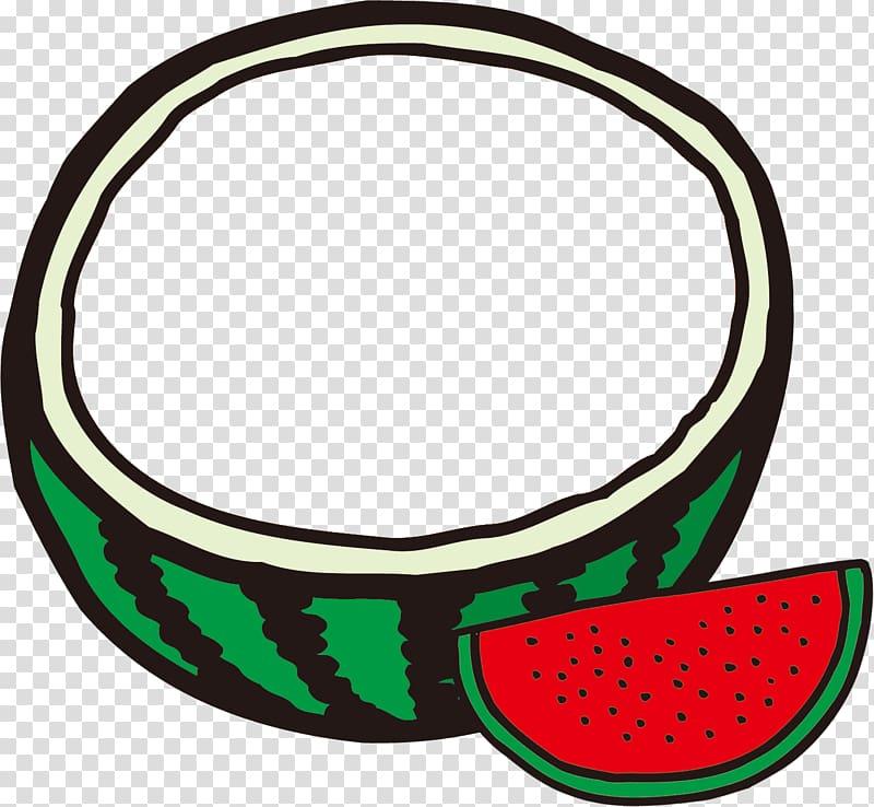 Watermelon , tanabata border transparent background PNG.