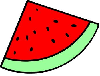 Watermelon clip art.