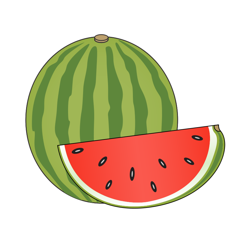 Free Clipart: Watermelon.