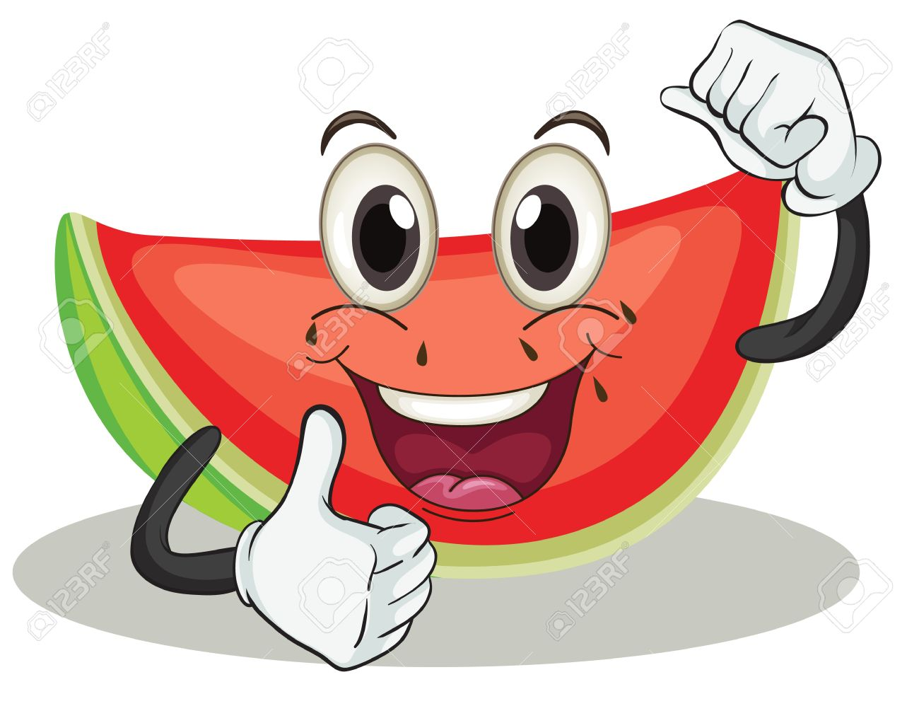 1,131 Watermelon Clipart Stock Vector Illustration And Royalty.