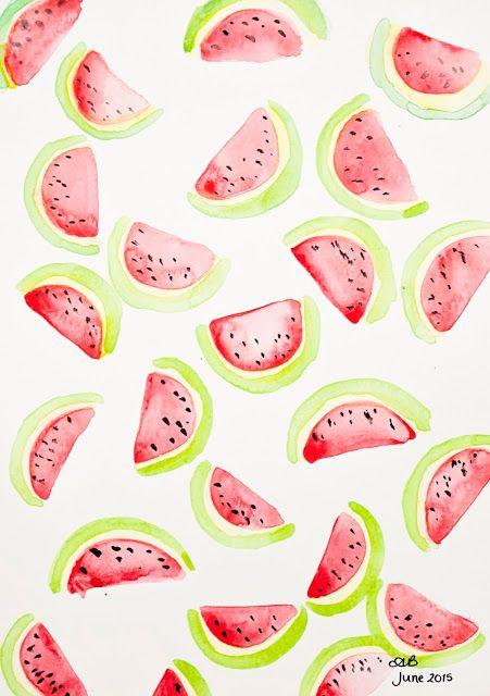 25+ best ideas about Watermelon Background on Pinterest.