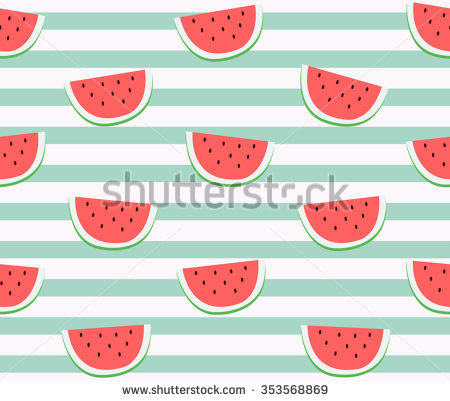 Watermelon Stock Images, Royalty.