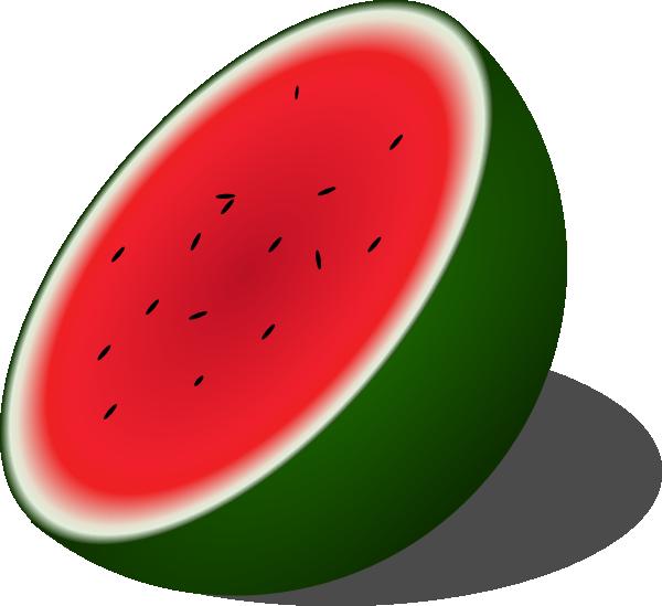 Watermelon Clip Art at Clker.com.