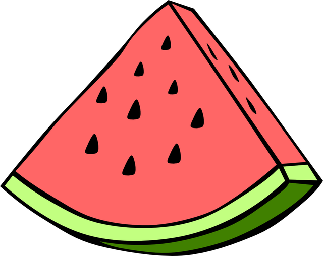 Watermelon Clipart 2.