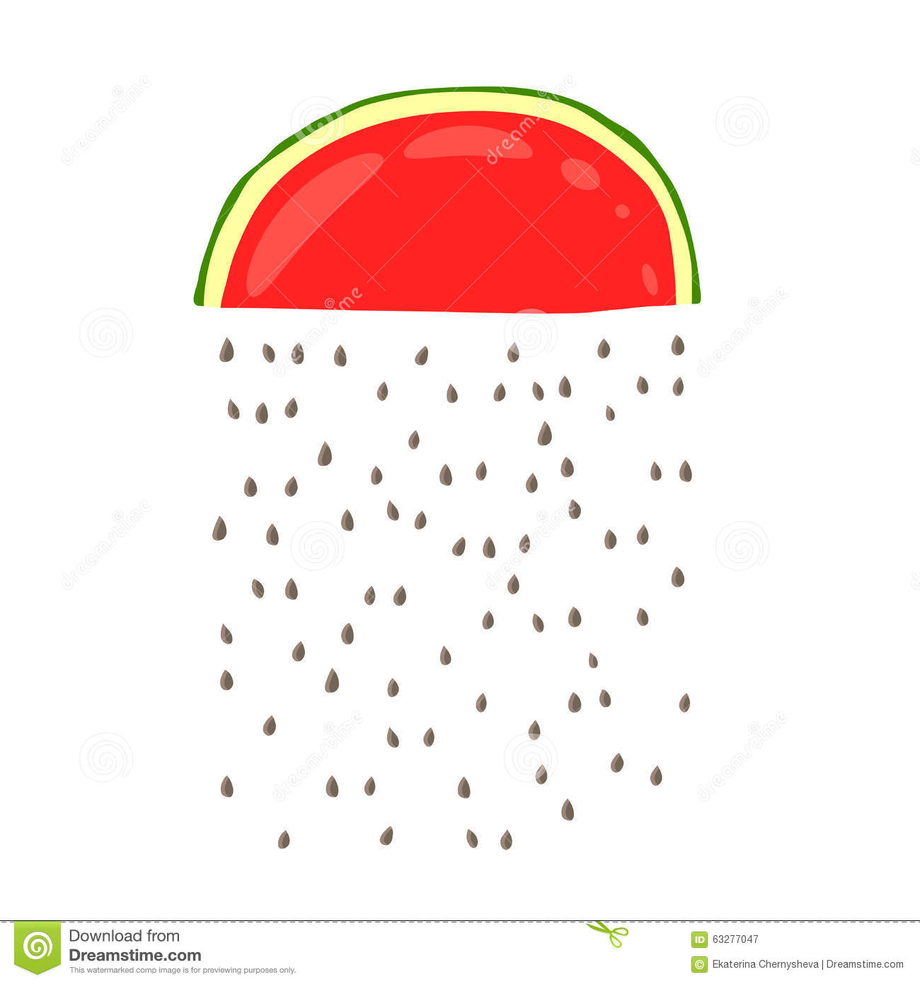 Watermelon Seeds Clipart (37+).