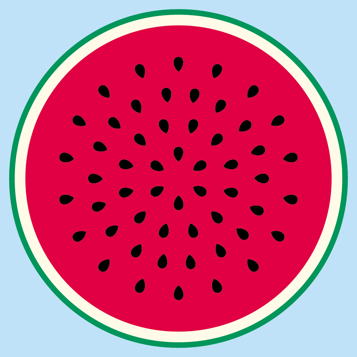 Watermelon Seed Clipart.