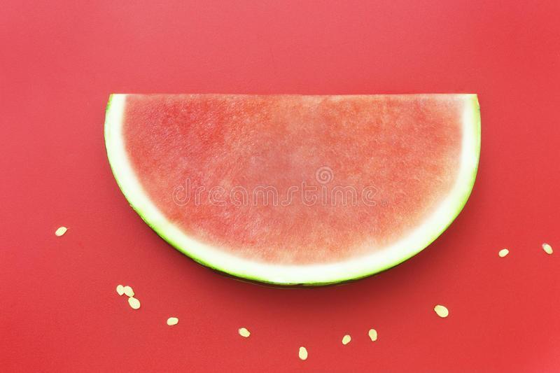 Seedless Watermelon Slice Clipart.