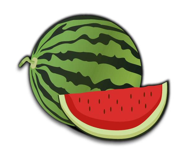 Free Vector Watermelon Clip Art in 2019.