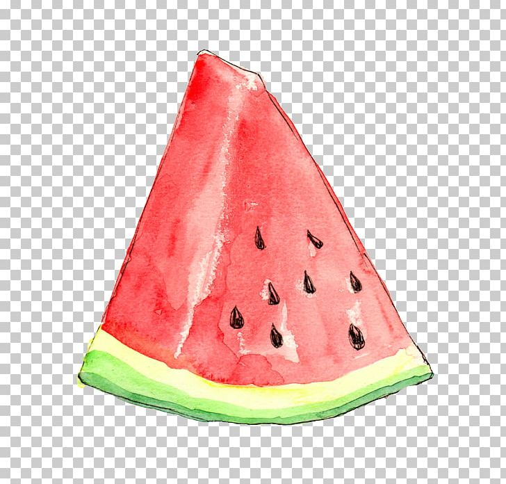 Watermelon Frutti Di Bosco Watercolor Painting Drawing Fruit.