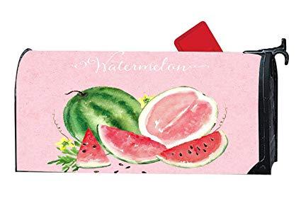 Amazon.com : Watermelon Watercolor Clipart Magnetic Mailbox.