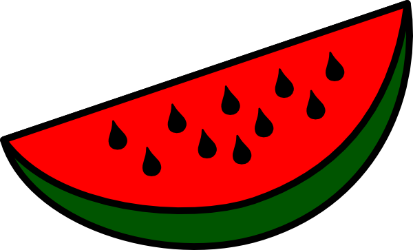 Watermelon Wedge clip art Free Vector / 4Vector.