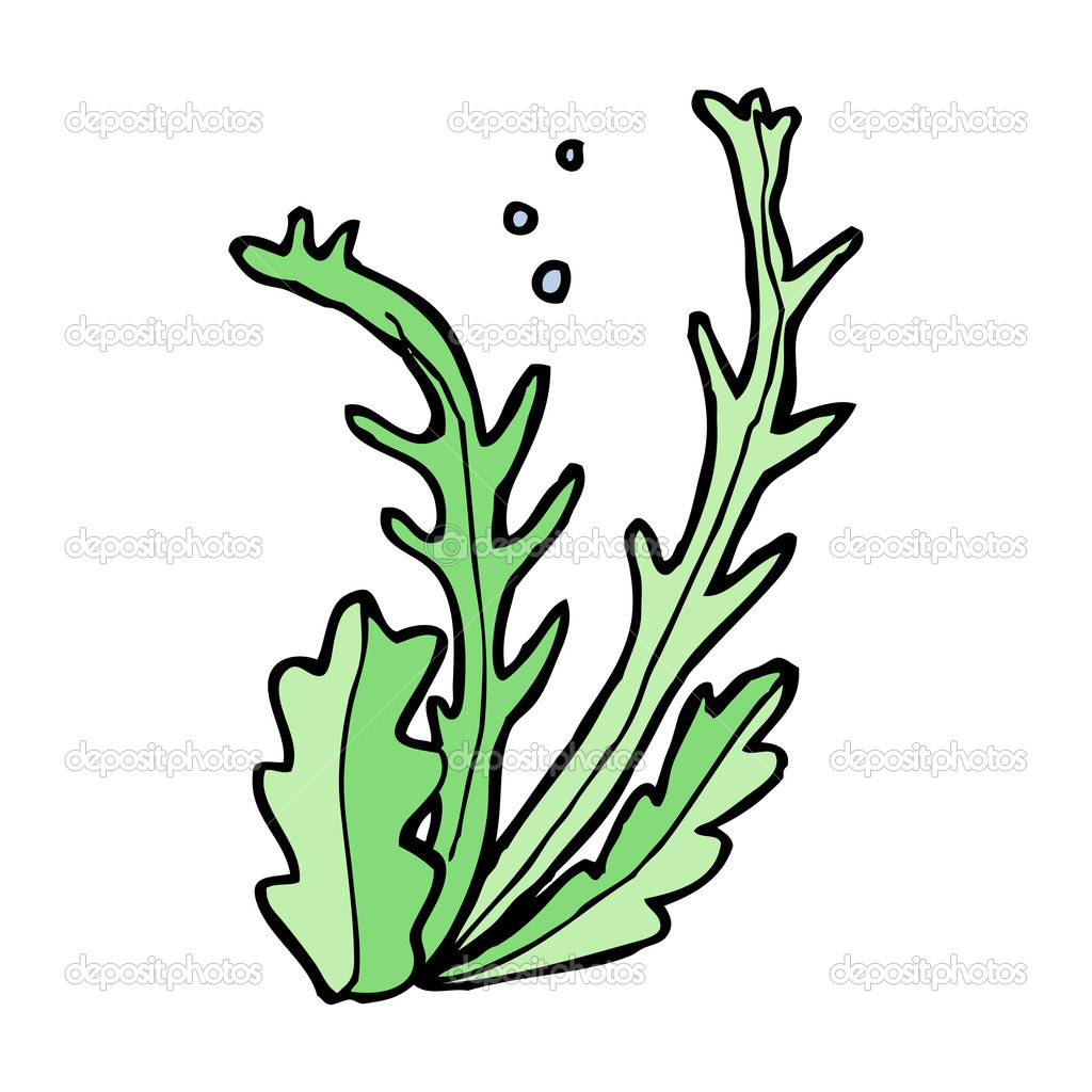 Cartoon water plant — Stock Vector © lineartestpilot #36168973.