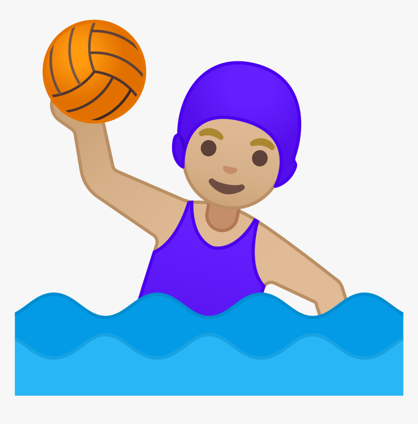 Water Polo Emoji Clipart , Png Download.