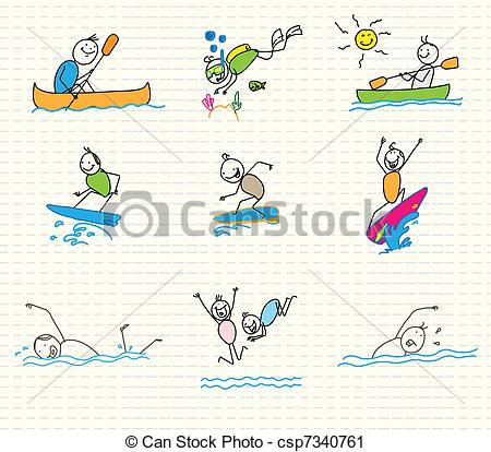 Water sports Clipart Vector Graphics. 24,786 Water sports EPS clip.